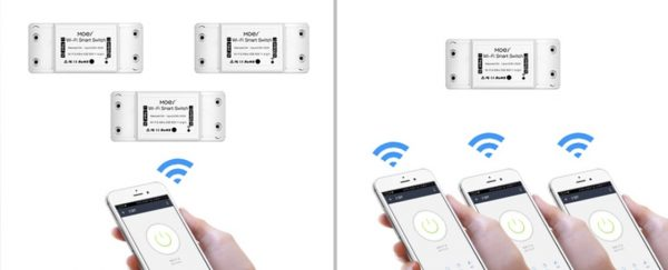 Moes wifi kapcsoló